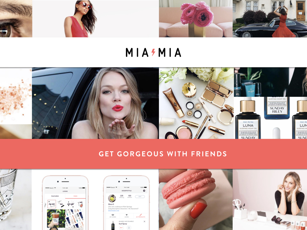 MiaMia Pitch Deck Tagline